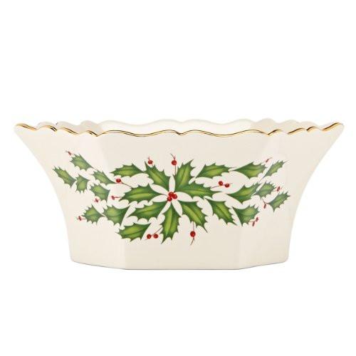 Lenox Holiday Paneled Bowl