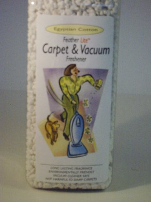 Egyptian Cotton Concentrated Carpet and Vacuum Fragrance Granules by FeatherLite