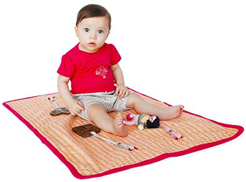Finn + Emma | Play Mat | Baby Girl | Hipster Collection | 100% Organic Cotton