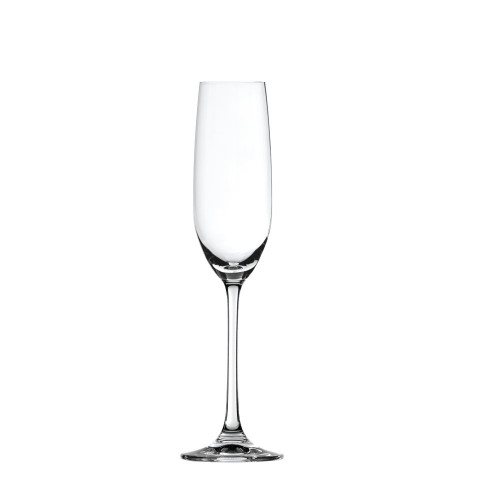 Spiegelau 4720175 Salute Sparkling Wine Champagne Flute (Set of 4), Clear
