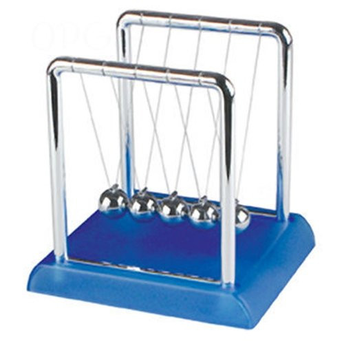 Toysmith Neon Colored Newton's Cradle - Colors May Vary