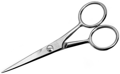 Wusthof Stainless Steel Moustache Scissors, 4.5 Inch
