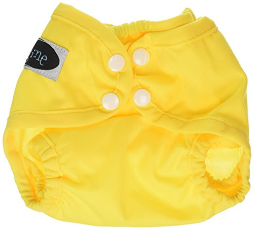 Imagine Baby Products Newborn Snap Diaper Cover, Marigold