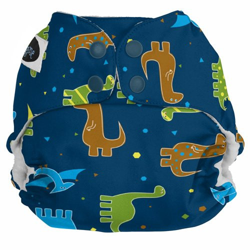 Imagine Baby Products Pocket Snap Diaper, Rawr