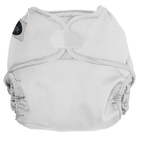 Imagine Baby Products Hook and Loop Diaper Cover, Snow