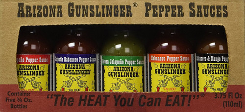 Arizona Gunslinger Pepper Sauce Variety Pack