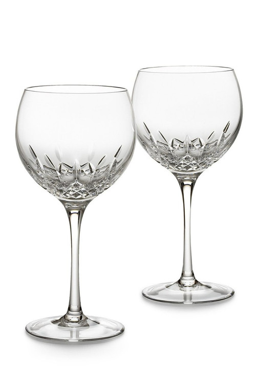 Waterford Crystal Lismore Essence Balloon Wine Pair Our