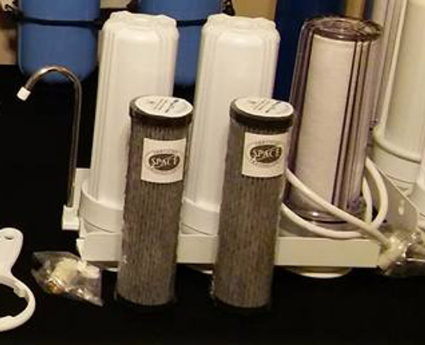 3 stage NASA based counter-top filtration