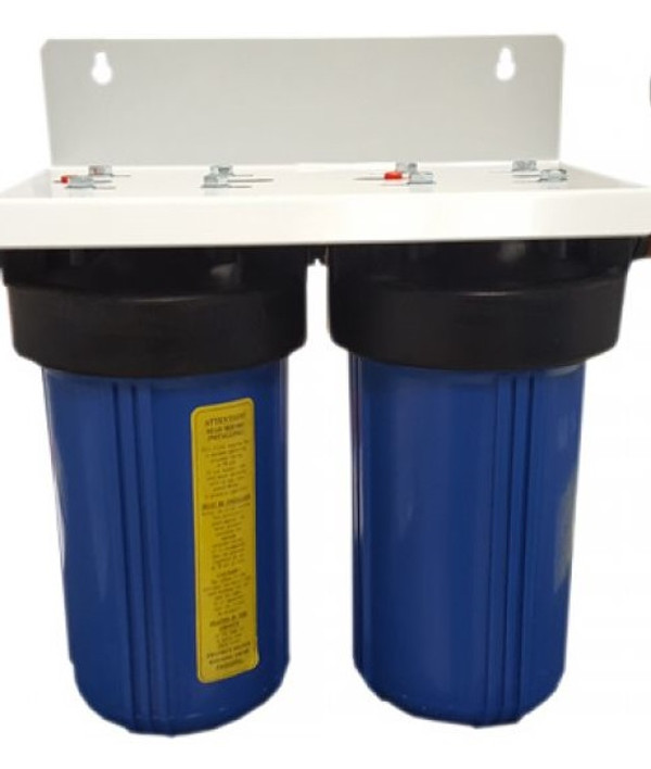 2 stage under counter filtration