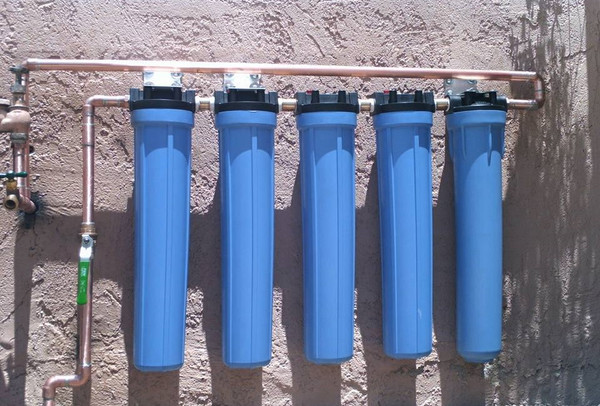 5 Stage Commercial Water Filtration