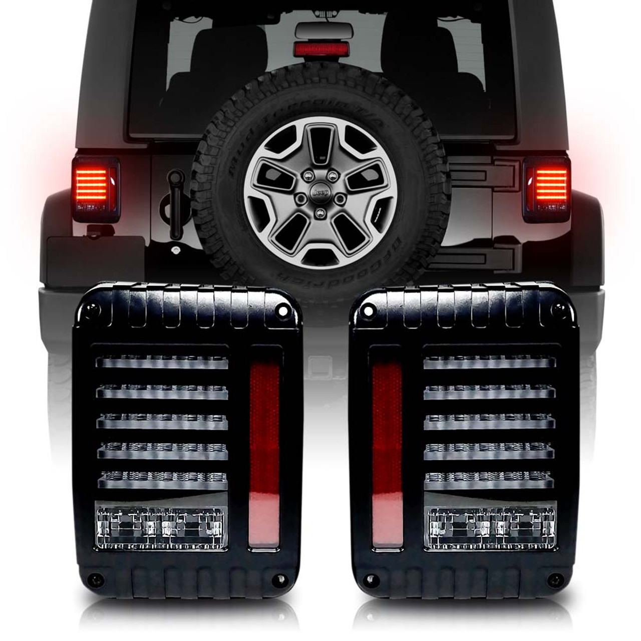 Jeep Wrangler Jk Led Tail Lights On Jeep Jk Led Tail Light Wiring ...