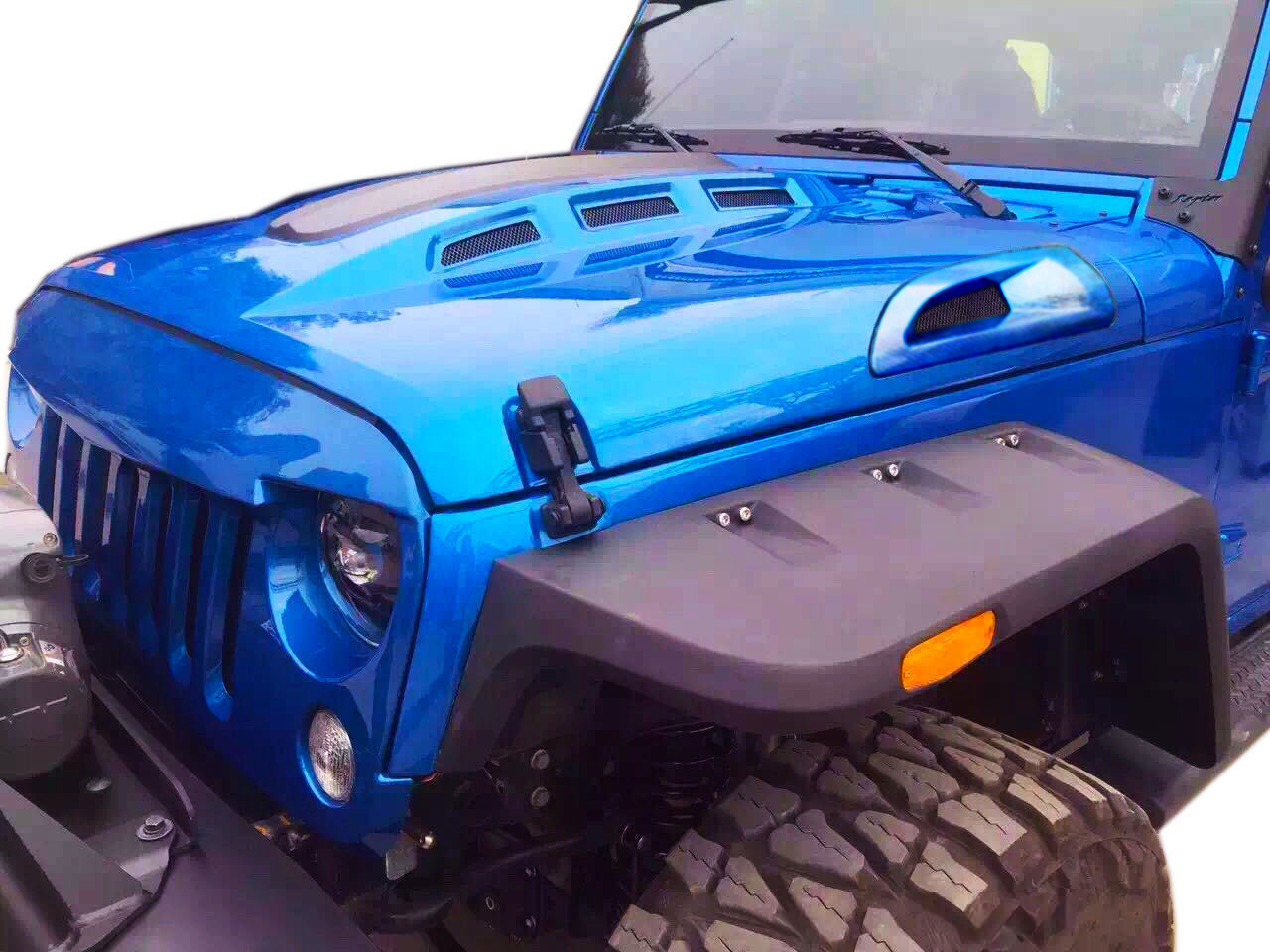 Avenger Hood For Wrangler Jk 2007 2017 Jeepfederation