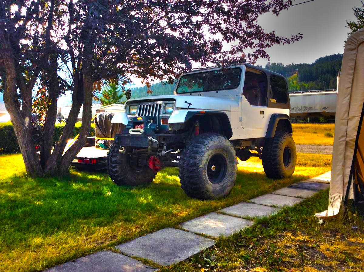 Jeep Wrangler Yj History User Manual