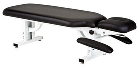 Earthlite Apex Stationary Chiropractic Table - black