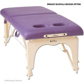 Custom Craftworks Athena Massage Table - BR