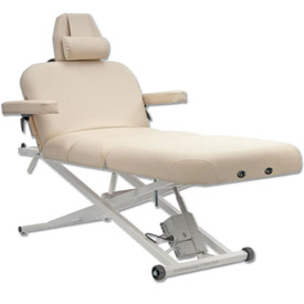 Custom Craftworks Classic Pro Deluxe Electric Lift Massage Table -tilt salon