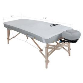 EarthLite Basics Fleece Massage Table Warmer-dimensions