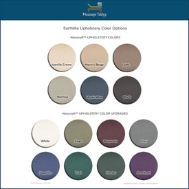 Earthlite Salon Style Neck Roll - colors