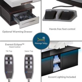 Everest Eclipse Electric Tilt - features 1