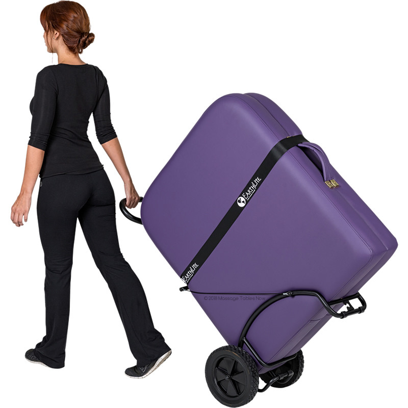 EarthLite Traveler Table Cart - in use