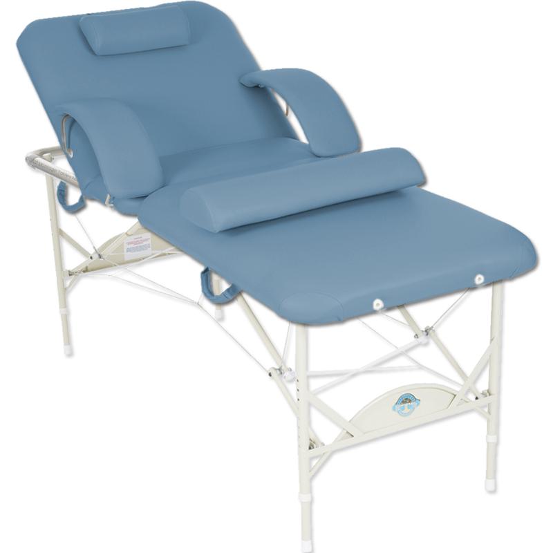 Pisces Pacifica Salon Massage Table Package-Dusty Blue