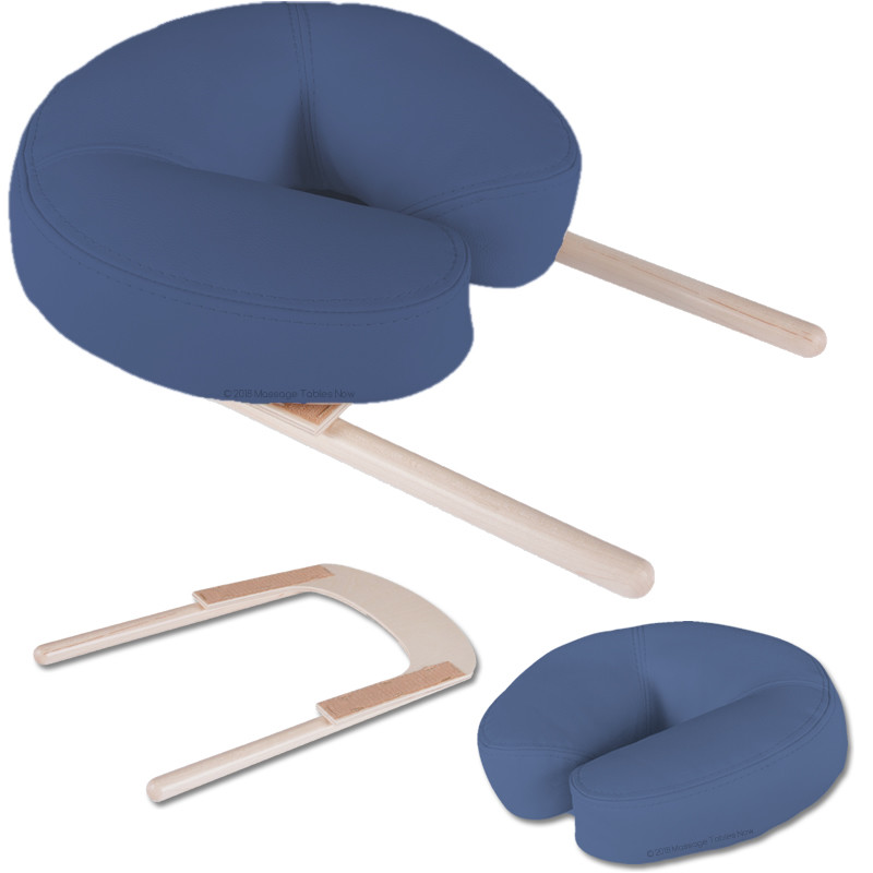 Earthlite Crescent Head Rest Platform with Face Pillow - collage