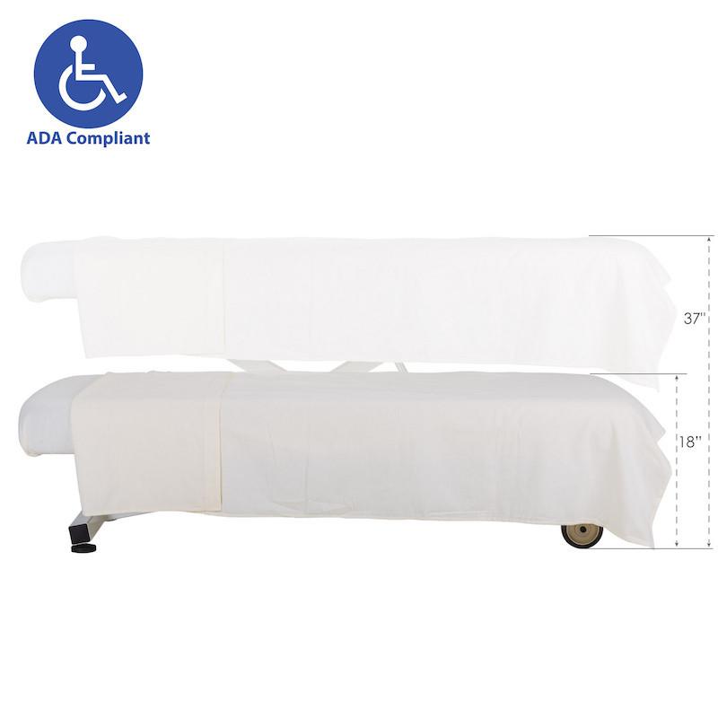 EarthLite Ellora Lift Massage Table-ADA height
