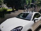 Porsche Macan with SeaSucker Bomber 3-Bike Rack