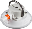 114mm SeaSucker White Vacuum Mount with Stainless Steel D-Ring