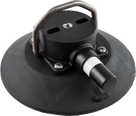 152mm SeaSucker Black Vacuum Mount with Stainless Steel D-Ring