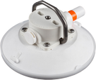 152mm SeaSucker White Vacuum Mount with Stainless Steel D-Ring