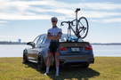 The Komodo on a BMW M3 - Single Bike Rack for Sports Cars & Convertibles (BB3009)
