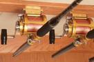 Lee's MC75 -  Rod/Reel Hanger Set installed in boat