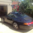 SeaSucker Talon fitted to Porsche Carrera