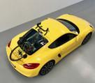 SeaSucker Talon fitted to Porsche Cayman S 981