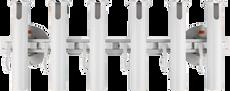SeaSucker 6-Rod Holder with Two 152mm SeaSucker Vacuum Mounts combined rating of 180kg