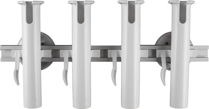4-Rod Holder with two 114 mm SeaSucker Vacuum Mounts. The removable boat rod holder solution capable of transporting 4 fishing rods and can also be used for light trolling.