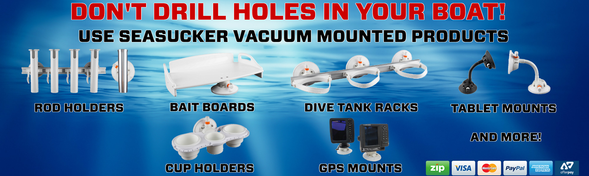 SeaSucker Marine Products Banner