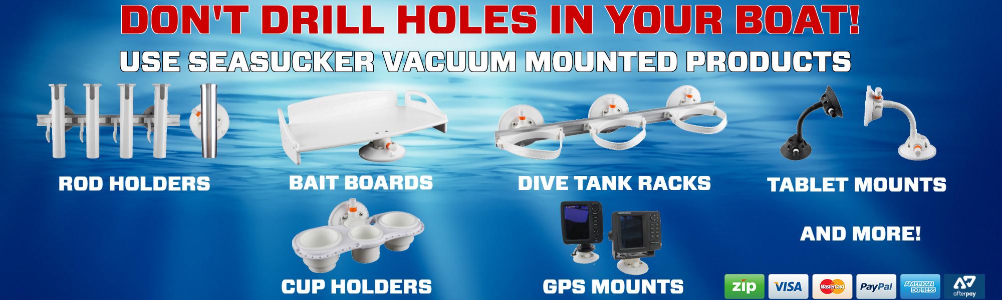 SeaSucker Marine Products Banner