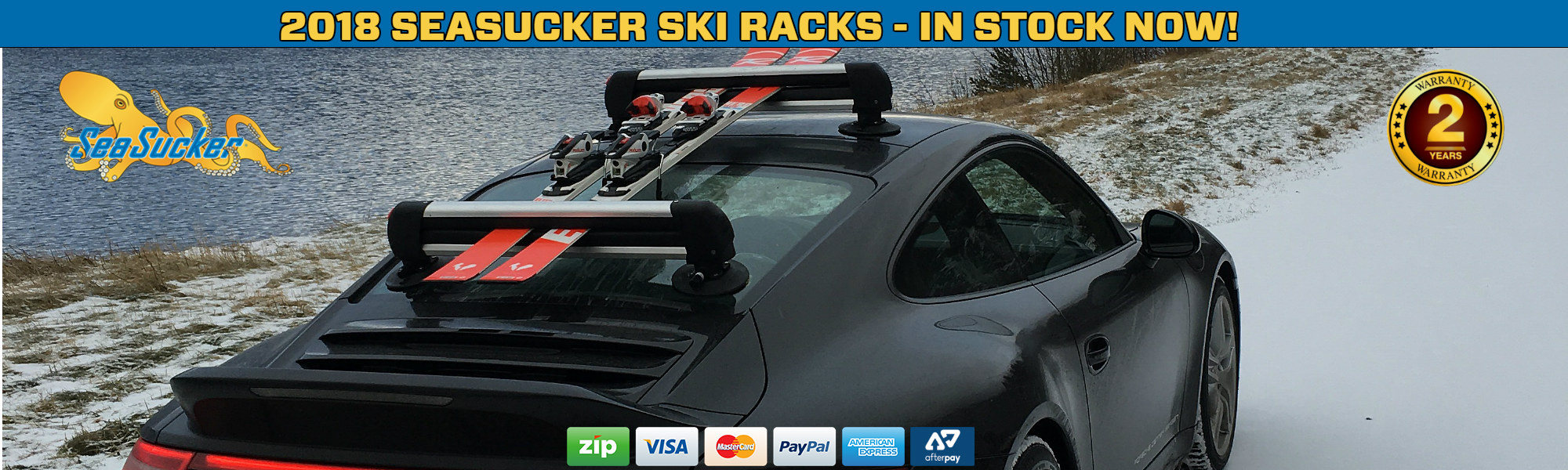 SeaSucker Ski Racks Home Page Banner