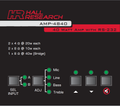 Hall Research AMP-4840 40 Watt Audio Amplifier with Microphone Mixer (AMP-4840)