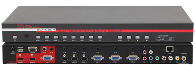 Hall Research Multi-Format Switcher & Scaler (SC-1080R)