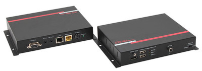 Hall Research HDMI + USB + LAN over UTP Extender with HDBaseT