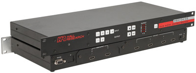 Hall Research 4x2 HDMI Matrix Switch with RS232 Control