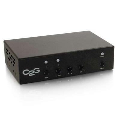HDBaseT Over Cat5 Extender Receiver - Scaler/De-embedder