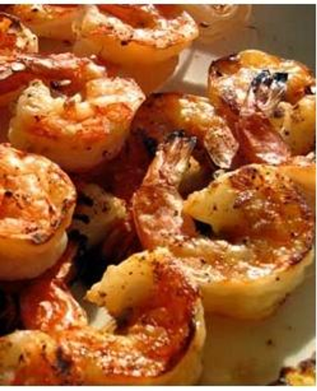 Grilled Shrimp with Shallots & Balsamic Dressing