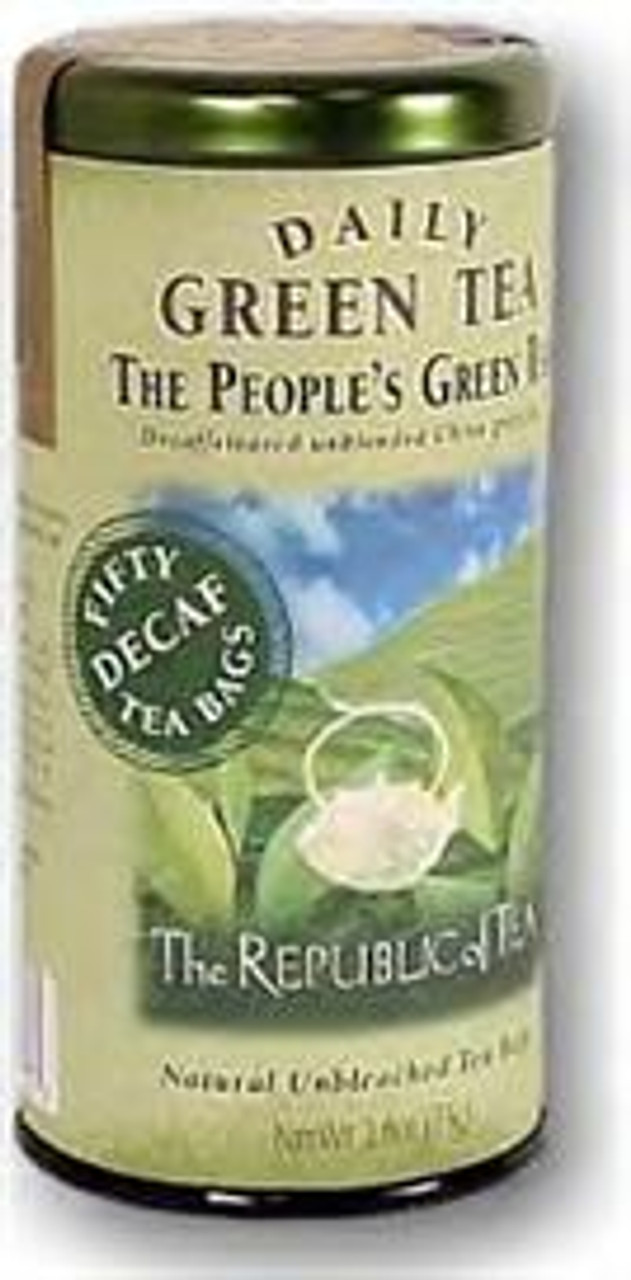 The People's Green Decaf Tea