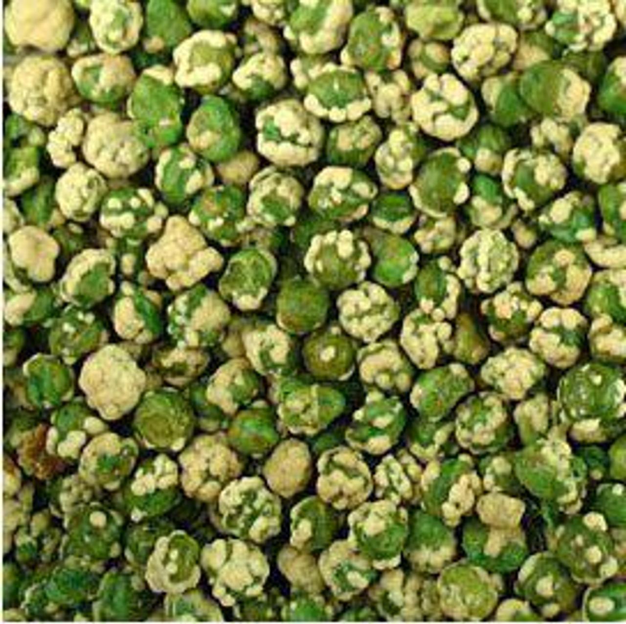 Wasabi Encrusted Peas