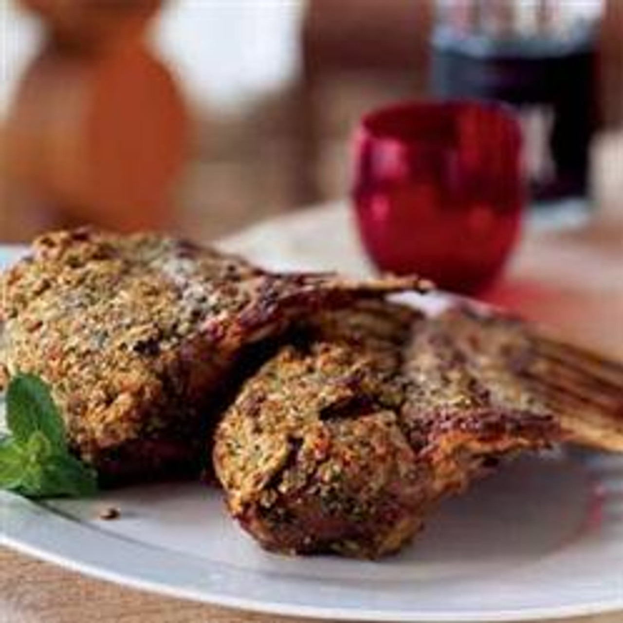 Rosemary & Reggiano Encrusted Rack of Lamb