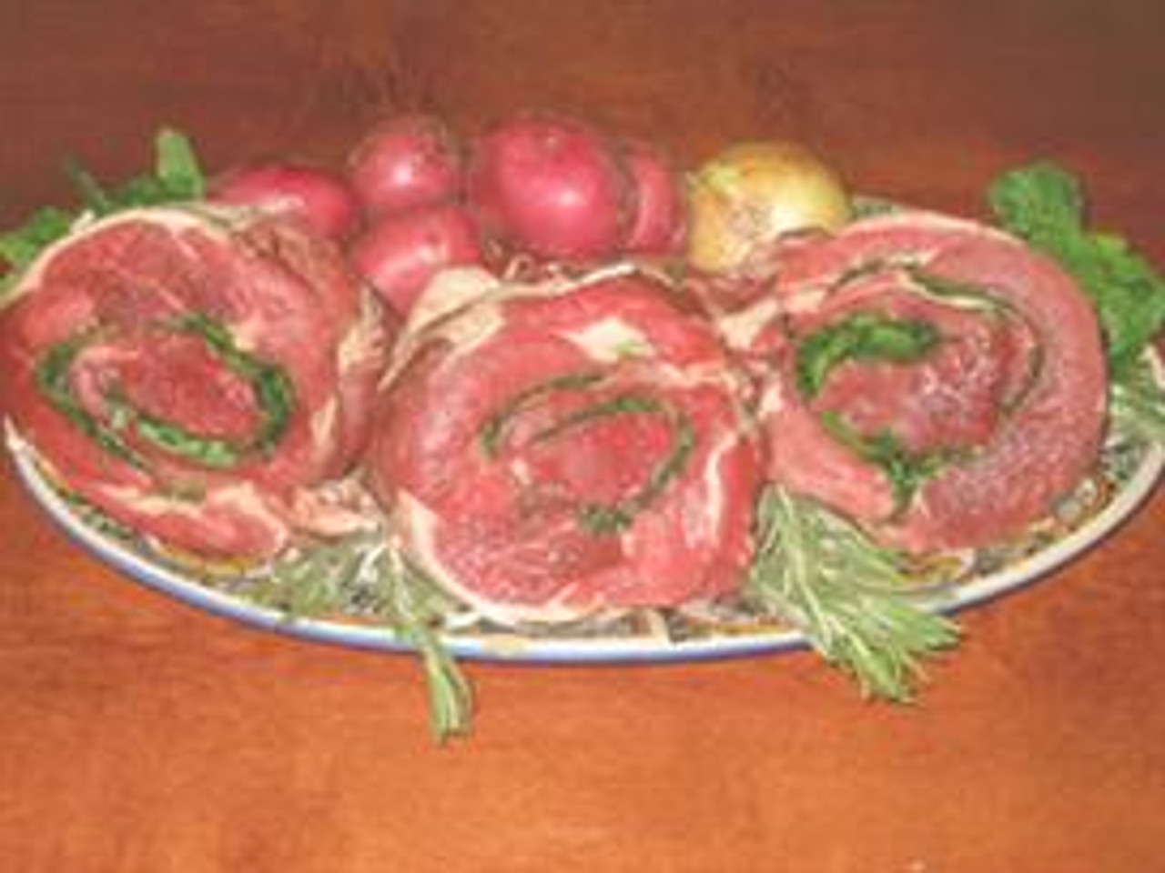 Boneless Seasoned Leg of Lamb Roast